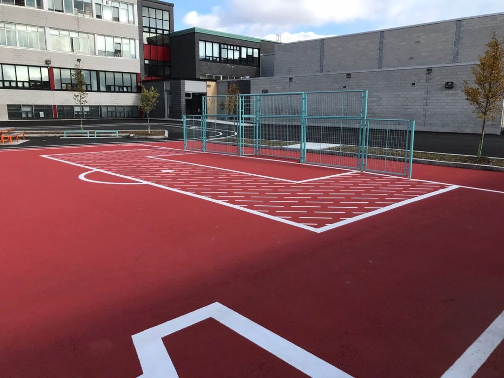 Solar Reflective Sports Court Hardscape Surfaces