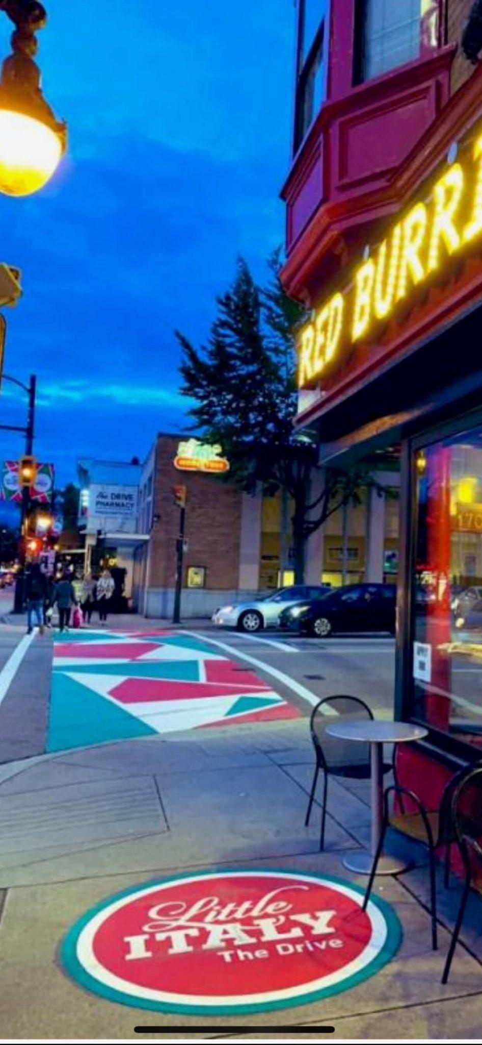 DecoMark deorative saphalt crosswalk commercial drive vancouver scaled