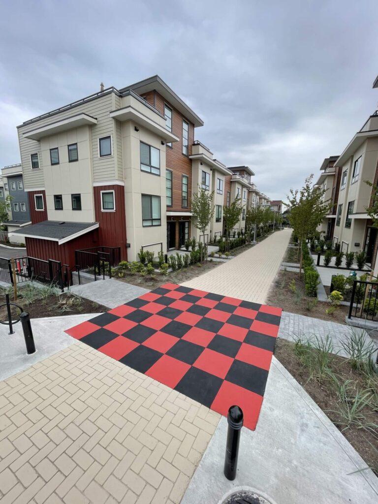 StreetBond asamped asphalt Crosswalk